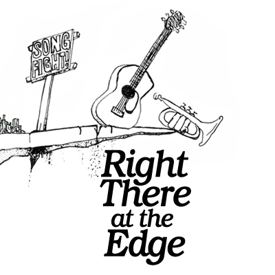Right There At The Edge (cover art)