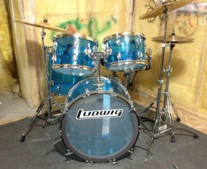 Vistalite Drumkit